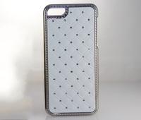 Luxury Diamond starry rhinestone electroplate hard case for iphone 5C 5 C mini shiny crystal bling metallic chrome skin cases