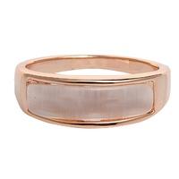 Full rhinestone rose gold decoration - eye ring female