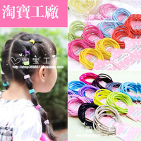 Simple candy baby child hair rope headband hair accessory hair accessory accessories