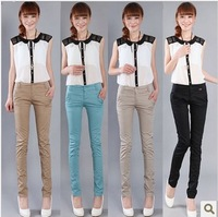 Autumn ol slim pencil pants harem pants casual pants female professional long trousers