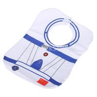 Free Shipping Environmental-friendly Waterproof White Aviation Pattern Nursing Saliva Towel Baby Bib
