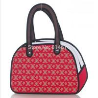 Hot sale boy and girl's Top 3d three-dimensional cartoons handbag bowling ball bag online free shipping drop shipping