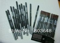 free shipping! New Arrival cosmetics makeup eyeliner pencil  Black Brown(60pcs/lot)
