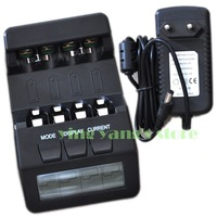 New BM110 Intelligent Digital Battery Charger Tester LCD Multifunction for 4 AA