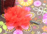 Christmas Flower Kids Hair Clip ,Free Shipping
