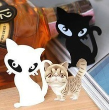 free shipping (20pieces/lot) brooches wholesale acrylic cat broach brooch pin