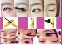 10PCS/LOT FREE SHIPPING Professional Waterproof Makeup Mascara New Volume Express COLOSSAL Mascara Black