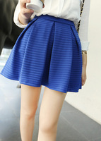 2013 gived all-match fashion bust skirt pleated skirt brief female