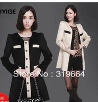 free shipping The new wool long cardigan fashion coat?