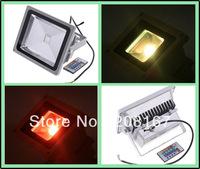 30W 85-264V 7 Color LED Landscape Lighting Waterproof RGB Led Flood Light Outdoor Floodlight with Remote Controller