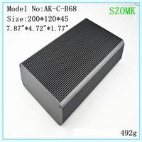 4 pieces a lot junction box aluminium 200 *120*45 mm  7.87 * 4.72 * 1.77 inch  aluminium extrusion box enclosure