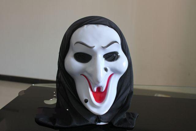 10X Devil Mask Scream Halloween Terror face Bleeding mask-The Christmas GIFT/Hornament ornament/party mask(China (Mainland))