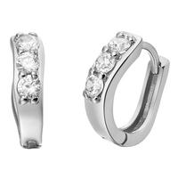 Free Shipping Best Quality Platinum Plated Crystal Earrings,Fashion Rhinestone Earrings Wholesale Fashion Jewelry 18KR556