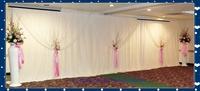 3m x 6m White Wedding Curtain Backdrops Drape Wedding Backdrops Fabric Backdrop s for Weddings