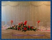 3m x 3m White Wedding Curtain Backdrops Drape Wedding Backdrops Wedding Decorations Backdrop