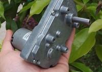 Freeshipping DC  6V 12V 24V gear motor about 500g