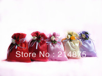 Free Shipping 100pcs /Lot  Wholesale 12g  Prety Scented Sachet Potpourri Wedding Accessories Valentines Gifts Home Decoration
