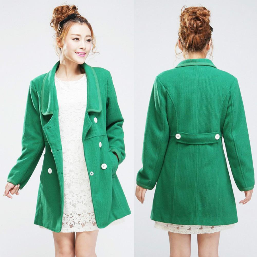 Green Coat For Women