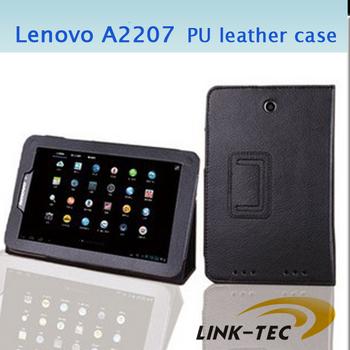 Free shipping Lenovo A2207 A2107 Protective Case PU Leather Case Lenovo A2207 Case LT18