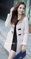 free shipping New type of cultivate one's morality in the long wool coat coat