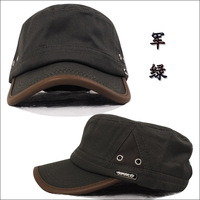 Military hat cadet cap ladder big hat male hat male spring and summer hat casual cap