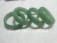 Green aventurine  Indian aventurine bangles semi-precious jade women's bracelet