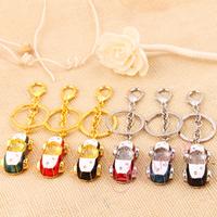 Fashion Jewelry Key Chain Elegant Car Model Key Ring Quality Key Holder Free Shipping KL68