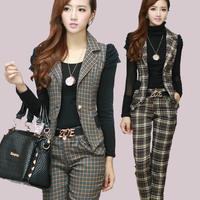 2013 casual set female autumn piece set slim professional set women's fashion