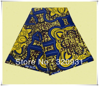 100% cotton African breathable printing wax textile fabric