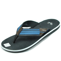 free shipping 2013 vietnam shoes men's anti-slip soles sandals male flip-flop flip flops rubber slippers
