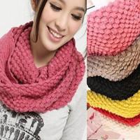 W013 muffler scarf sweet corn kernels yarn scarf muffler scarf cape