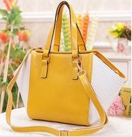 Free shipping Genuine leathe handbag Girls / Women's serpentine pattern tote bag Shoulder bag  personality fashionable