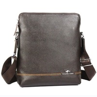 Genuine leather man bag shoulder bag first layer of cowhide male kangaroo commercial messenger bag casual bag