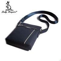 Kangaroo male package shoulder bag messenger bag genuine leather male bag business casual leather bag