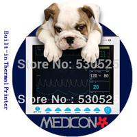 *Free EMS Shipment* CE FDA Approved CMS8000 Veterinary Patient Monitor, ECG NIBP PR Spo2 Temp Resp, Printer, 12.1 TFT Dispaly