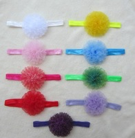 9pcs Beauty Kid Baby Girl Headband Hairband Hairbow Hair Flower Lace Headwear