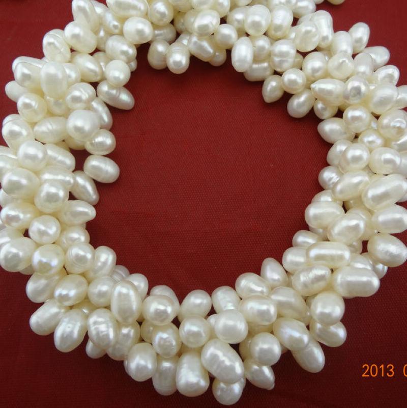 Spedizione gratuita 5-6mm braccialetto di perle quattro- file accessori per bracciali multistrato braccialetto di perle