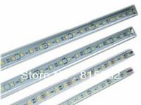 Rigid Aluminum Led Strip Light Ultra Slim 12V DC 50cm SMD5050 36-SMD For Cabinet Light Bar/Caravan/Boat with aluminum housing