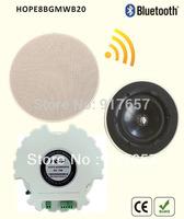 Home audio loudspeaker In-ceiling stereo speaker built-in Bluetooth,wireless bluetooth ceiling speaker controlled by phone,pad