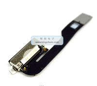 Original Charging Port Flex Cable Ribbon for iPad 2 Replacement Black/White 10pcs/lot