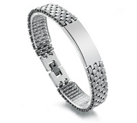 Free shipping  fashion 2013  titaniumwatch chain style men bracelet  men jewelry  bangles
