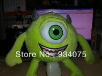 Free shipping, the arrival of 2013 new monster university stuffed dolls, Mike is very lovely