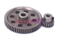 HSP RC 1/10 11184 & 11181 Differential Steel Metal Main Gear 64T Motor Gear 21T 21 teeth
