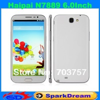 Haipai N7889 Phone Android 4.2 MTK6589 Quad Core 1GB 16GB 13.0MP Camera 6.0 Inch HD Screen Capacitive touch screen Smart Phone