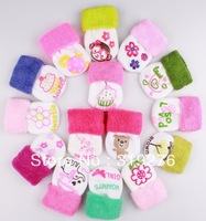 6paris/lot Wholesale  0-6M new born baby socks cotton toddler's socks soft cute designs Baby wear infant socks