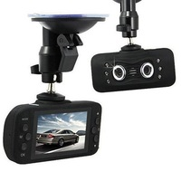 New Arrival F11 Full Degree Angle Full HD 1920*540 Dual Lens Car DVR Black Box Camera With IR Night Vision