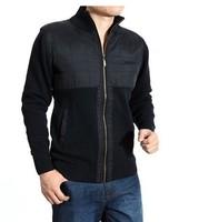 Free Shipping 2014 fashion mens sweater coat  sweater jacket  slim wool men british style shirts,winter gloves  157