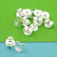 Jewelry Findings-925 Silver Earring Stoper