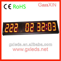 4 inch 9 digits led countdown clock