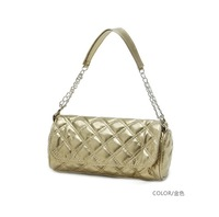 2013 plaid knitted chain one shoulder bucket small bag women's cross-body handbag candy color bags